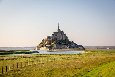 Mont Saint Michel, Normandy, 2018