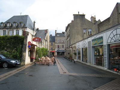 Main street of Bayeaux