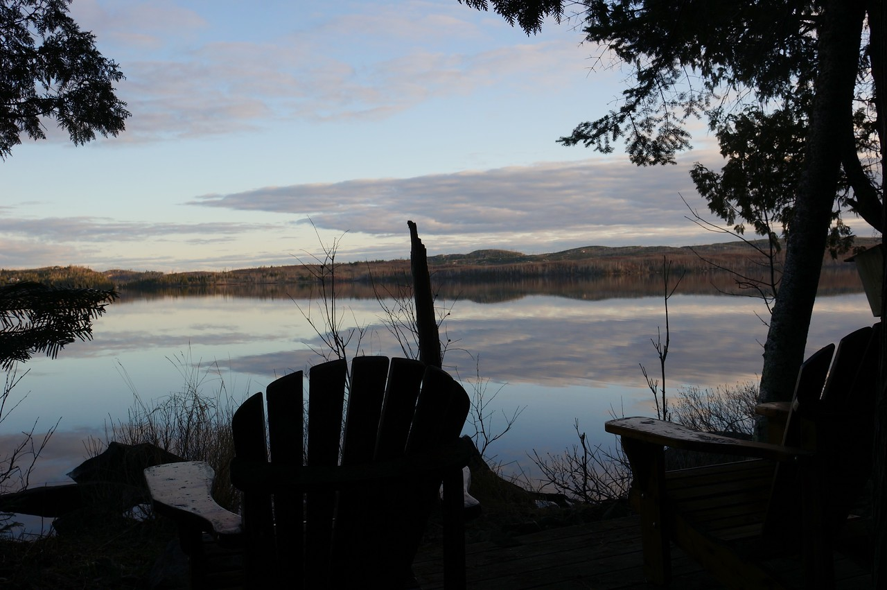 Eary morning on Gunflint Lake