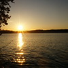 Sunset on Gunflint Lake