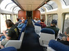 The dome car was a good place for a chat.