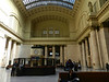 Inside Union Station - the tracks are hidden below