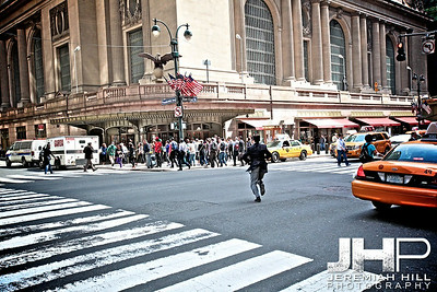 """""""The Grand Central Run"""" NYC, 2013 Print NYC1-0748"""