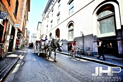 """""""Horse and Cart"""", Montreal, Quebec, 2011 Print JP11-822-068"""