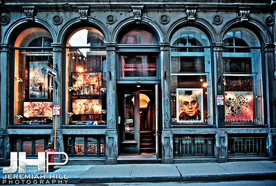 """Taxi Driver Gallery Front"", Montreal, Quebec, 2013 Print JP13-426-0099"