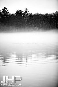 """Leacock's Mist"", Orillia, ON, Canada, 2012 Print JP12-124-049"