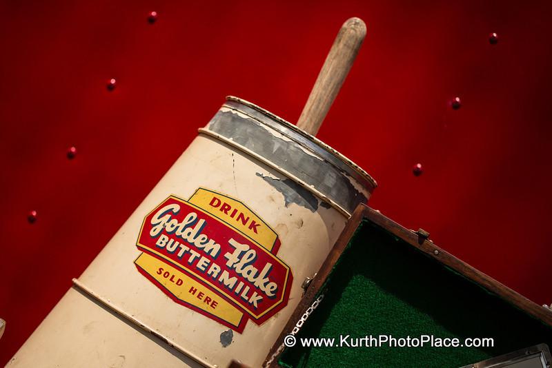 Golden Flake Buttermilk Churn