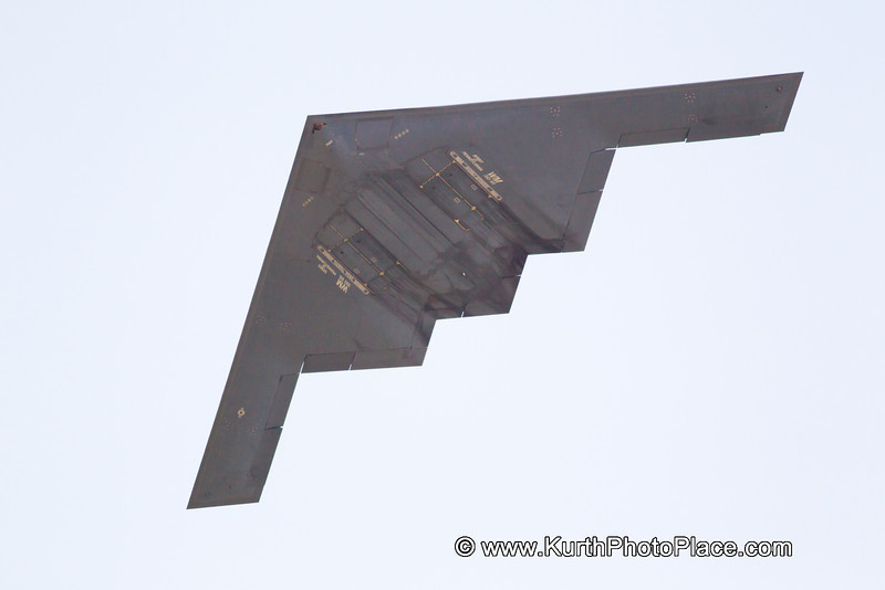 """For the second year in a row, the crowd was told that the B2 overhead was the """"Spirit of Nebraska"""".  For the second year in a row - it wasn't"""