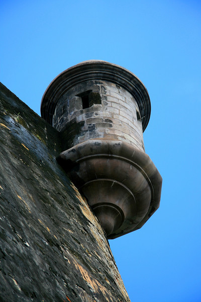 Turret Up Close, Fort San Cristóbal - Puerto Rico