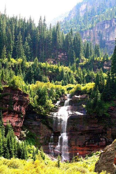 Telluride Waterfall - Colorado