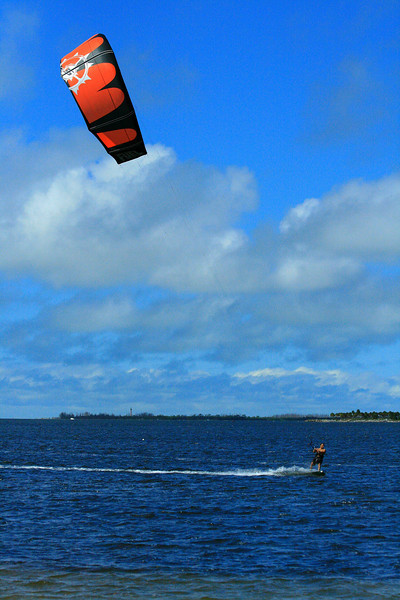 Lone Kite Surfer - Florida