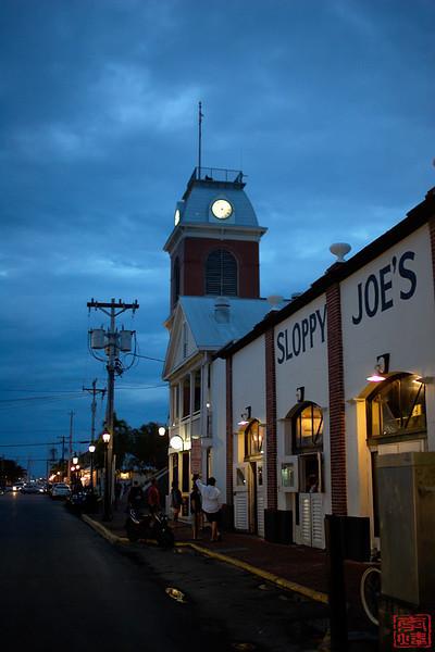 Sloppy Joes, Key west town
