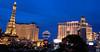 Las Vegas, shot from parking garage of Bellagio