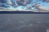 badwater salt flat at sunrise