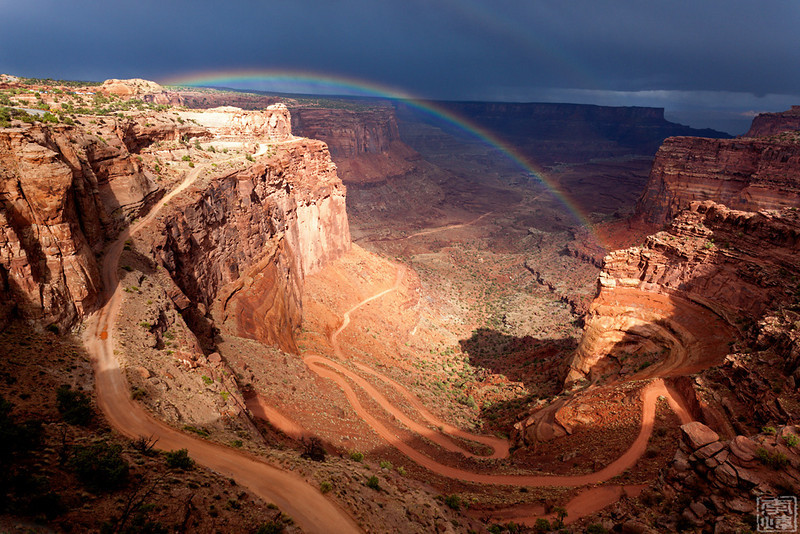 shafer canyon overlook, Canyonlands national park