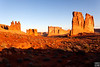 3 gossips, tower of babel, courthouse tower, arches national park