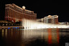 fountain show in front of Bellagio