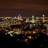 Montreal downtown niew from Mt. royal