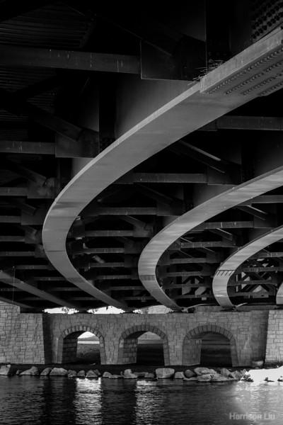 Deschutes Bridge underside