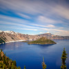 Long exposure of Crater Lake from Discovery Point