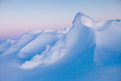 Arctic snow. Kotzebue, AK
