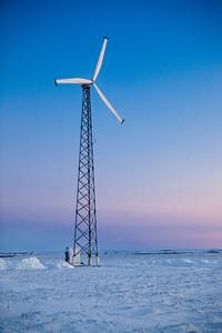 Wind power. Kotzebue, AK