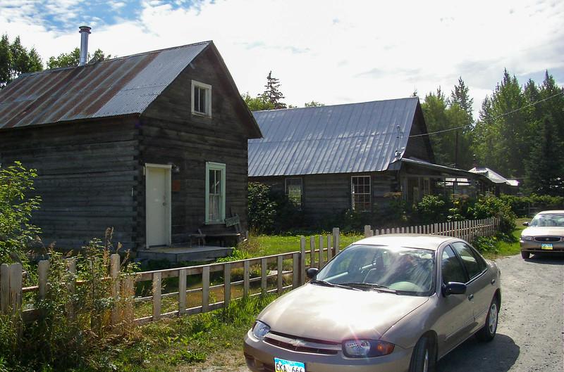 The village of Hope, Alaska.