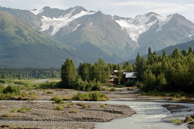 Day 1: Driving the Seward Highway from Anchorage to Seward.