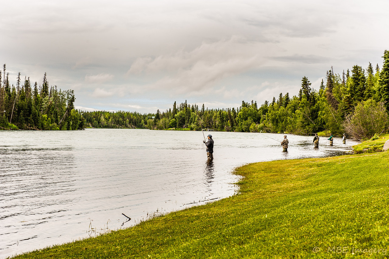 Fishing on Kenai River