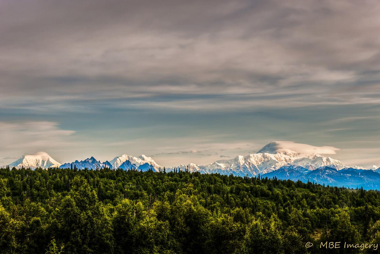 Mt. McKinley at Denali National Park