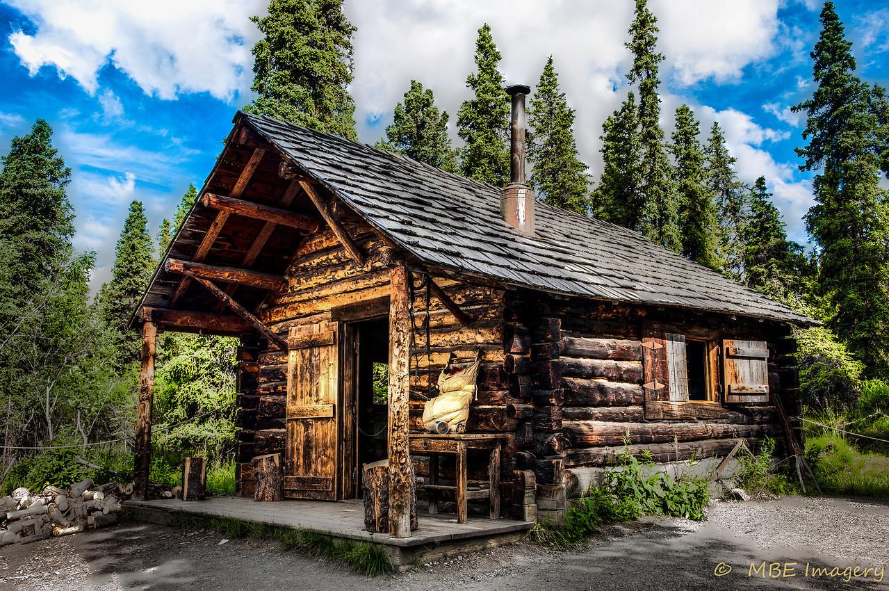 Cabin in Denali National Park