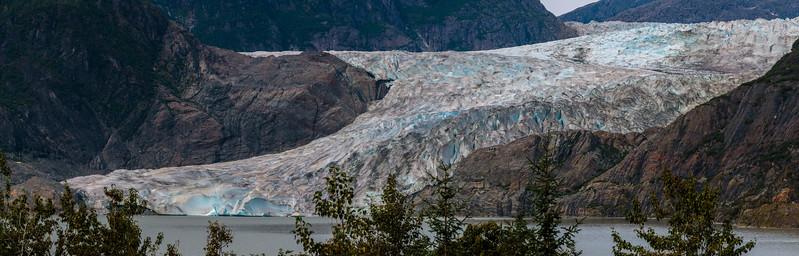 Mendenhall Glacier, Juneau, Alaska, 2017