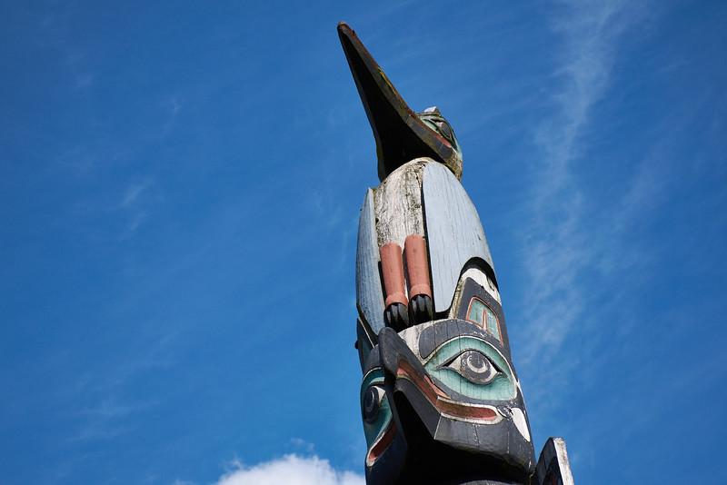 Chief Kyan Totem Pole