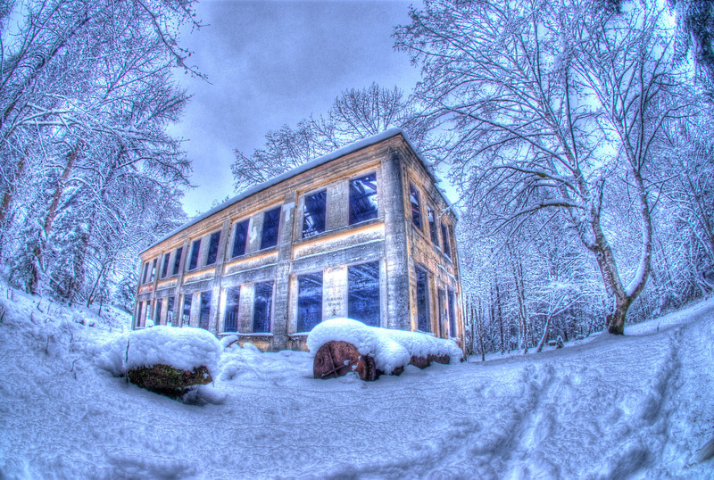 winter at the old hospital