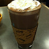 Delicious hot chocolate at Snow City Cafe!