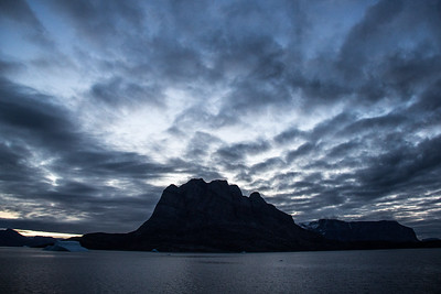 Dawn at Uummannaq