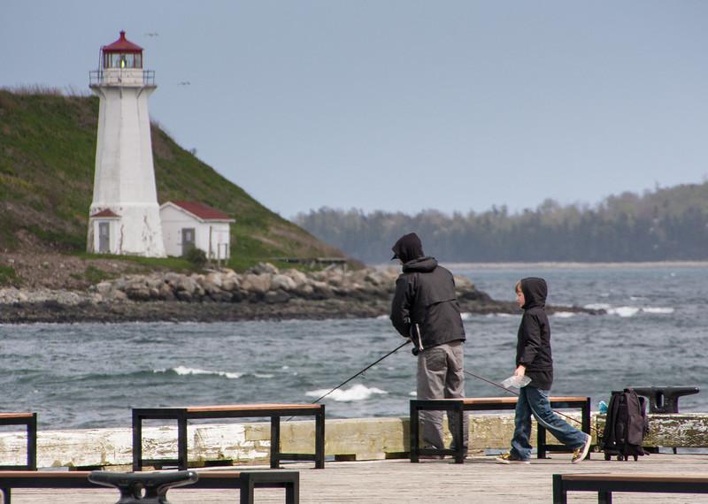 Georges Island from the Halifax Boardwalk