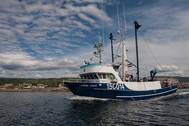 Departing Crab Boat