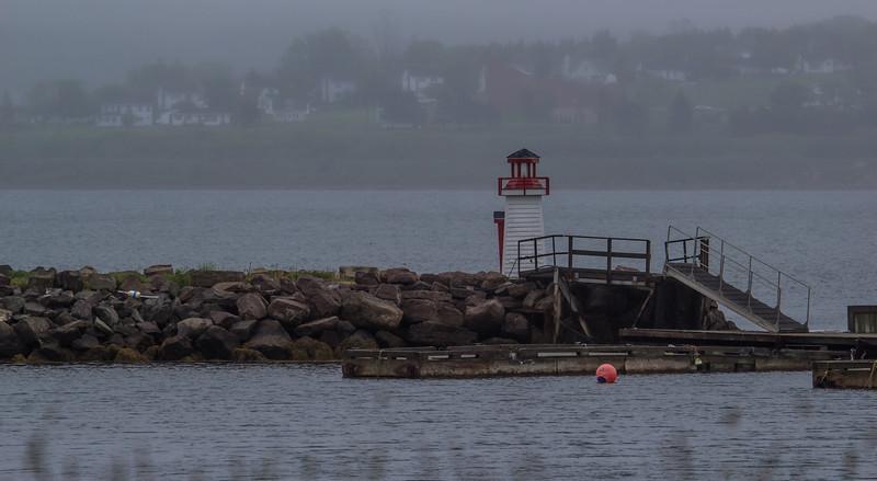 Mulgrave, breakwater navigation light