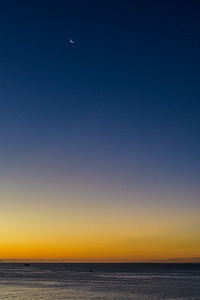 Crescent Moon before Sunrise