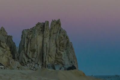Beach Rock and Earth Shadow