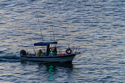 Fishing Boat Heading to the Grounds