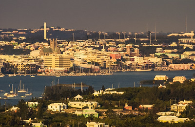 Hamilton Harbor from Gibbs Hill Lighthouse