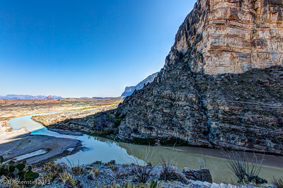 Santa Elena Canyon, Big Bend, Texas, 2013