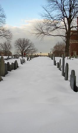 Copp's Hill Burying Ground in Boston.