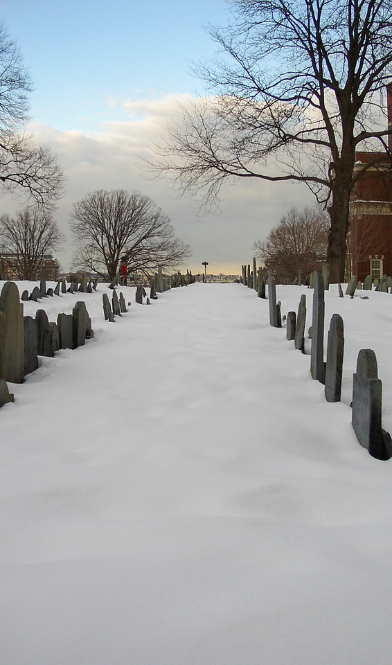 Copp's Hill Burying Ground in Boston.
