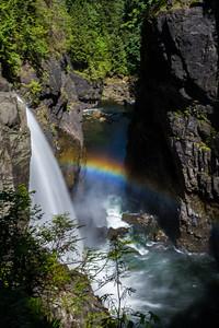 Elk Falls Park, Vancouver Island, 2010