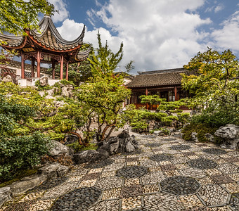 DR. Sun Yat-Sen Classical Chinese Garden, Chinatown, Vancouver, BC, Canada, 2014