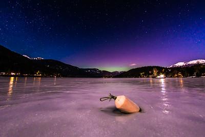 Northern Lights over Alta Lake