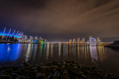 Vancouver light reflections
